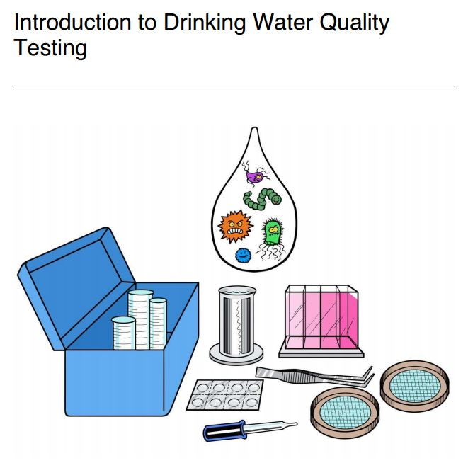 cawst newly updated drinking water quality testing manual household drinking water quality. Black Bedroom Furniture Sets. Home Design Ideas